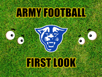 Army Football First Look Georgia State